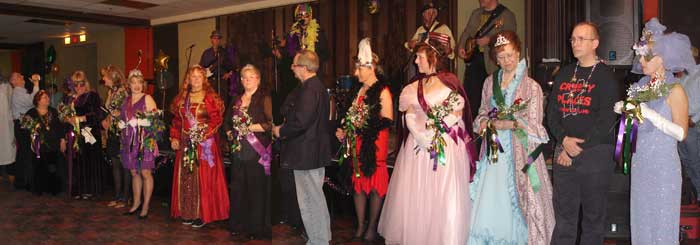 Past Kings and Queens of Mardi Gras